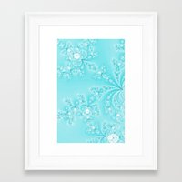lace Framed Art Prints featuring Lace by Shalisa Photography