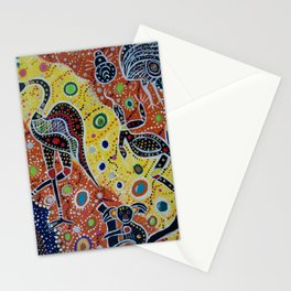 Australia: The Land Where Time Began Stationery Cards