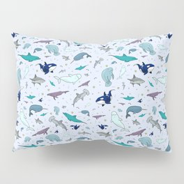 Ocean Animals Pillow Sham