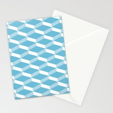 3D Turquoise Stationery Cards