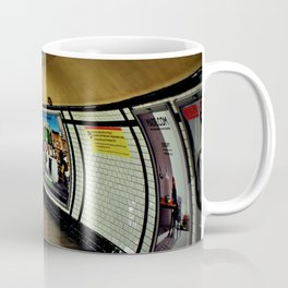 Empty London Underground Station England Coffee Mug