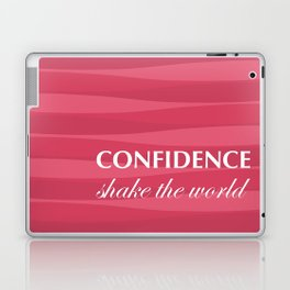 Red for Confidence Laptop & iPad Skin