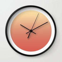 Get Lucky? Round Wall Clock