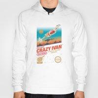 danny ivan Hoodies featuring Crazy Ivan by Victor Vercesi