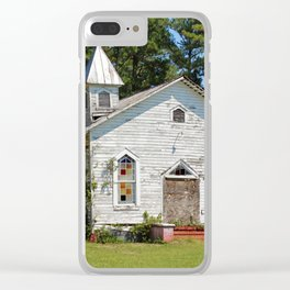 Reaves Chapel Clear iPhone Case