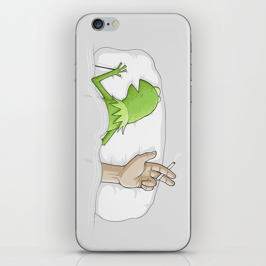 Crazy night iPhone & iPod Skin