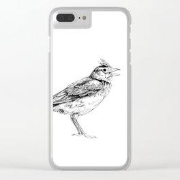 Skylark Clear iPhone Case