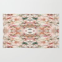 minerals Area & Throw Rugs featuring Mystic Minerals 3 by Caroline Sansone