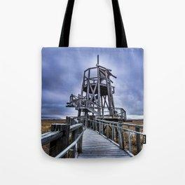 Observation Tower - Great Salt Lake Shorelands Preserve - Utah Tote Bag