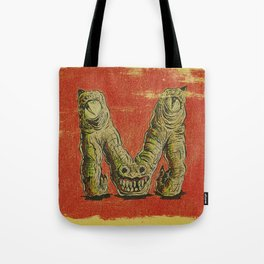 Monster M Tote Bag