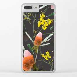 Wild Night Natives Clear iPhone Case