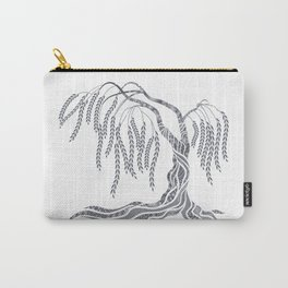 Weeping Willow Tree Carry-All Pouch