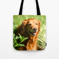 sassy Tote Bags featuring Lady Sassy by Robin Curtiss