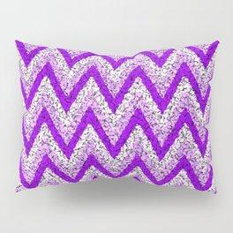 Purple Zigzag Pillow Sham