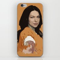 alex vause iPhone & iPod Skins featuring Vause Ass Bitch. by Fashionable
