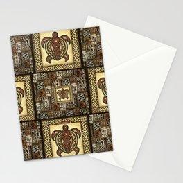 Hawaiian Tapa Cloth Stationery Cards