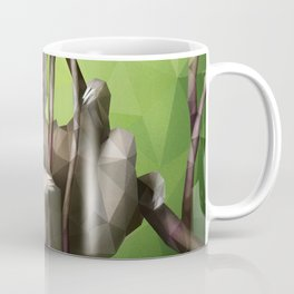 Sloth (Low Poly Lime) Coffee Mug