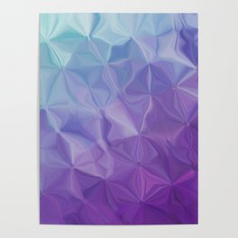Abstract painting color texture Poster