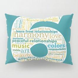 Life Path 6 (color background) Pillow Sham