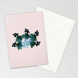 Marine halo Stationery Cards