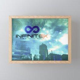 Space Needle - Infinitek Headquarters Seattle Framed Mini Art Print