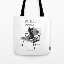 Mr Black Tote Bag