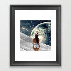 Awakening Christmas Edit Framed Art Print