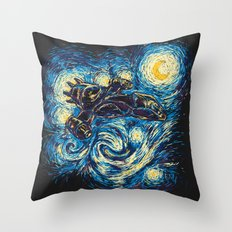 Starry Flight (Serenity) Throw Pillow
