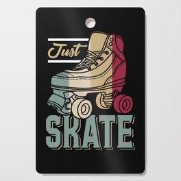 Just Skate   Retro Roller Skating Cutting Board