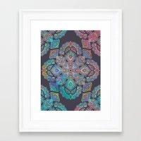 boho Framed Art Prints featuring Boho Intense by micklyn