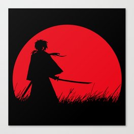Samurai X Canvas Print