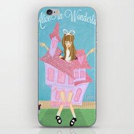 Alice in Wonderland-  Oh! I am Stuck! iPhone Skin