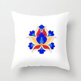 Eslimi Flower Throw Pillow