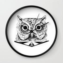 Lost Owl Wall Clock