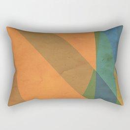 orangeblue II Rectangular Pillow