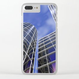 citylines -1- Clear iPhone Case