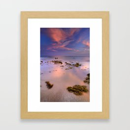 """Bolonia beach III"" Framed Art Print"