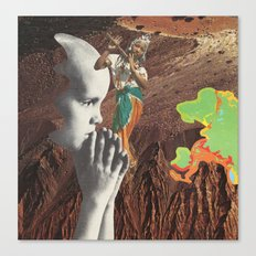 law of superposition Canvas Print