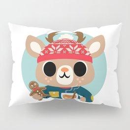 Deer in a Sweater Pillow Sham