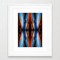 navajo Framed Art Prints featuring Navajo by Robin Curtiss
