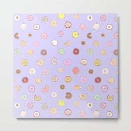 Donut You Want Some 03 Metal Print
