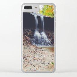 Blue Hen Falls Clear iPhone Case