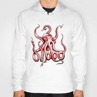 gangster Hoodies featuring Gangster Octopus by Milo Firewater