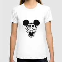 mickey T-shirts featuring Mickey Duck by cmyka
