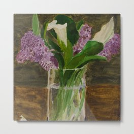 Mother's Day Lilies Metal Print