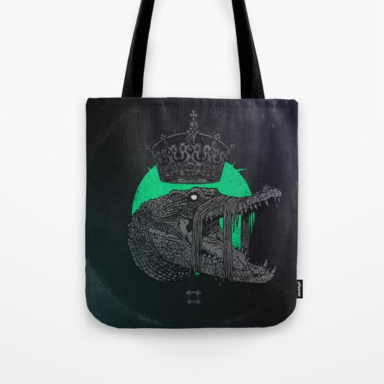 Down in the limbs, an eye on everything. Tote Bag