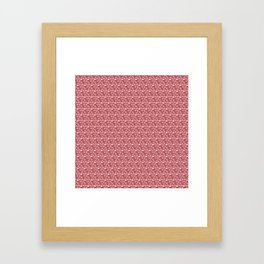 Impossible Pattern Framed Art Print