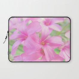 Coral Pink Petals Laptop Sleeve