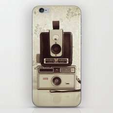 Vintage Cameras iPhone & iPod Skin