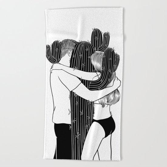 Love Hurts Beach Towel